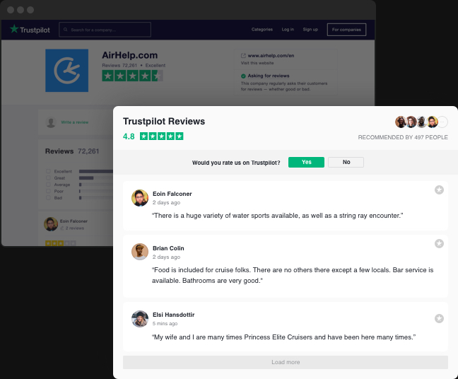 Make your Trustpilot reviews do the job on your website