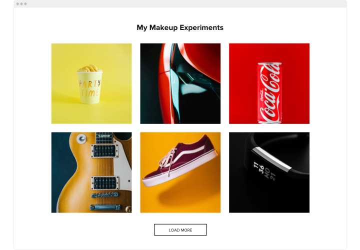 Blogger Photo Gallery widget