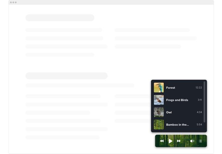 Webflow Background Music