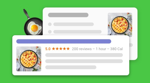 How to Get Recipe Snippets on Google