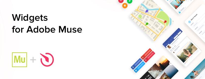 i migliori widget gratuiti per il tuo sito web adobe muse