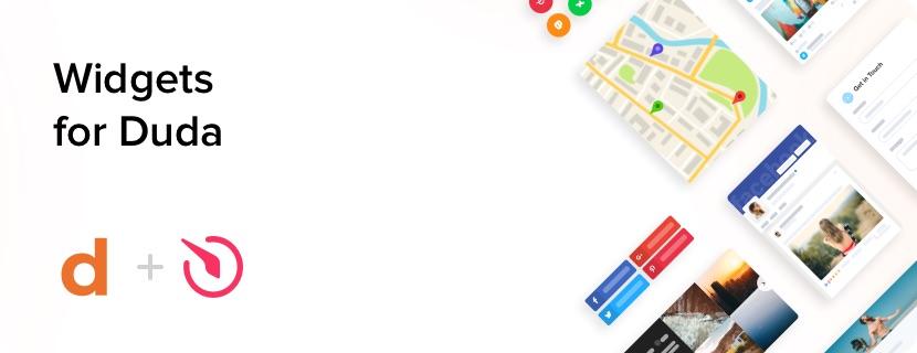 i migliori widget gratuiti per il tuo sito web duda