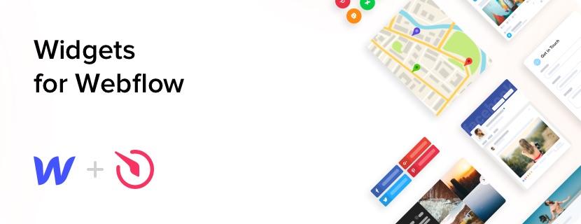 i migliori widget web gratuiti per il tuo sito webflow