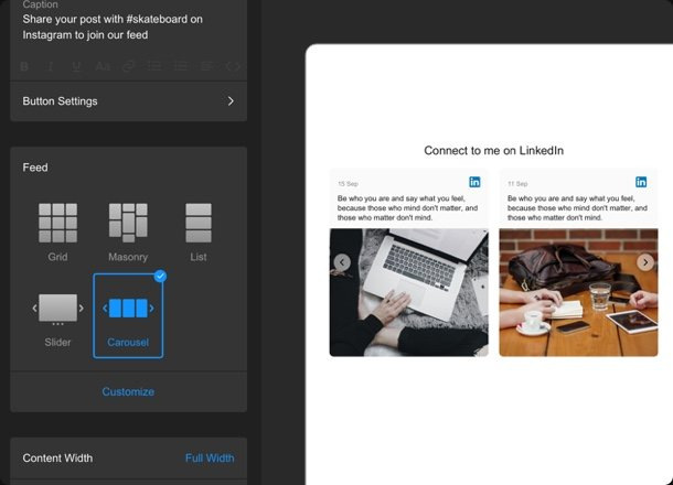 Responsive widget design for any screen