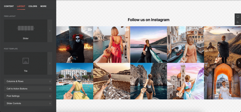 how to integrate Instagram to your website