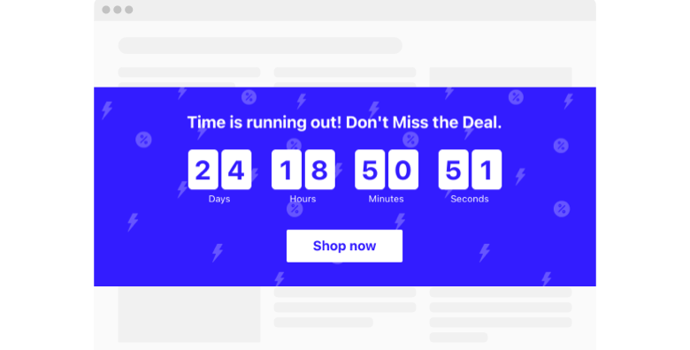 Cyber Monday Countdown Timer