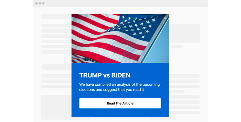 Election Popup