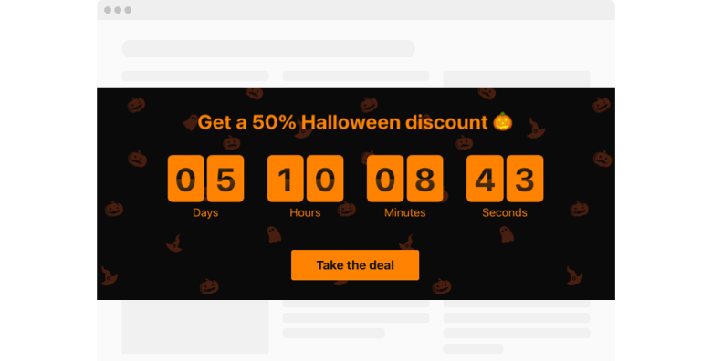 Halloween Countdown Timer
