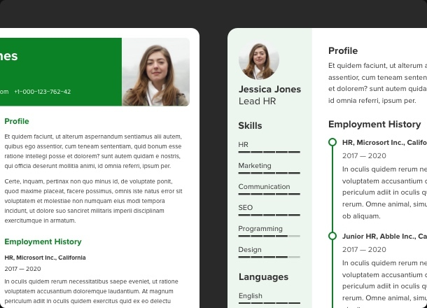 Create a resume that is impossible to miss