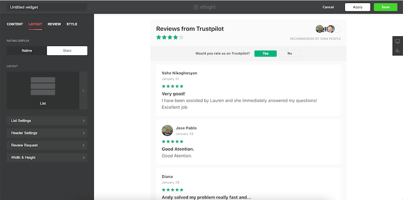 how to integrate Trustpilot to your website