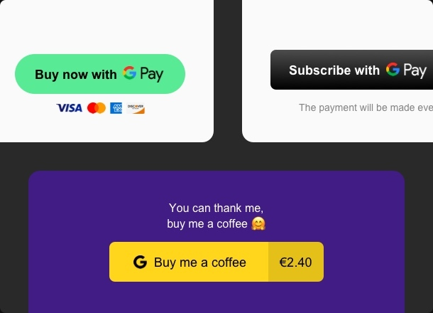 Set up subscriptions, payments, and donations in minutes